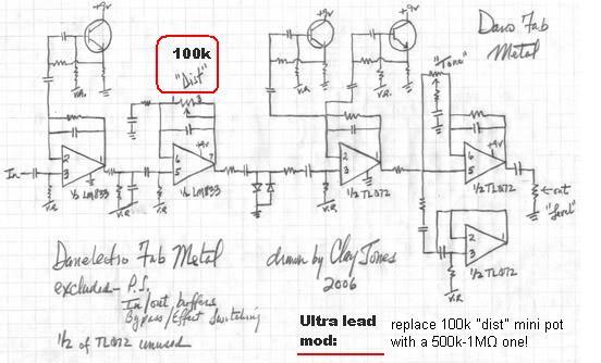 danelectro wiring diagrams