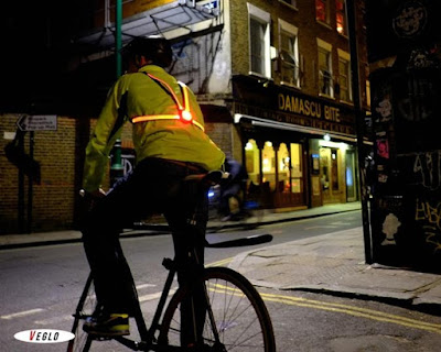 Commuter X4 wearable fibreoptic bike light
