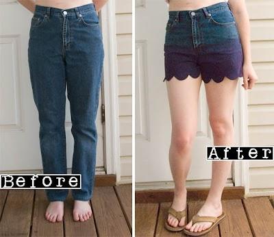 Como hacer unos Pantalones Cortos con Ondas