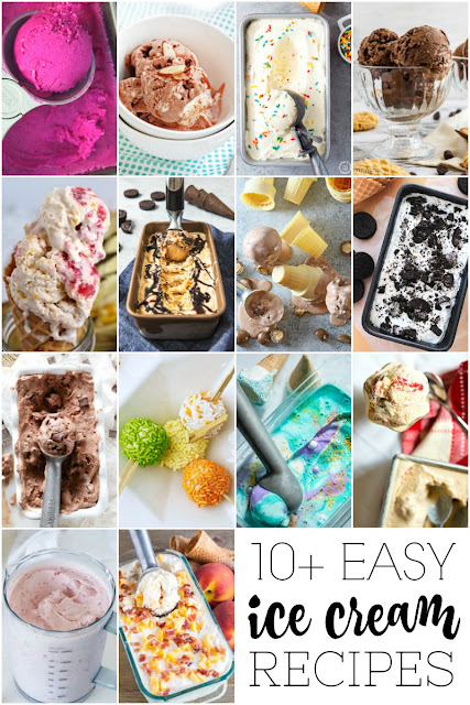 Summertime is the perfect time to whip up some homemade ice cream! Try these 10+ Easy Ice Cream Recipes.