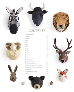 Animal Heads - Table of Contents