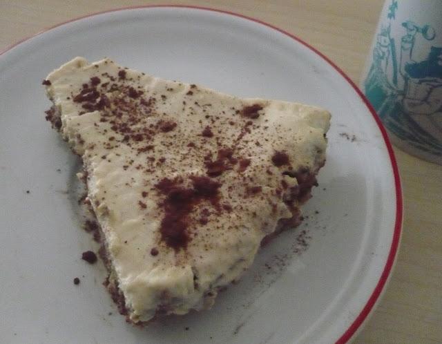 cheesecake cremosa in versione vegana