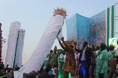world's tallest drum abeokuta ogun state