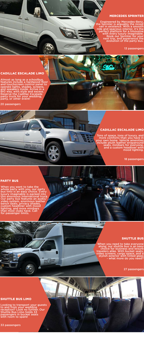 Dynasty Limousine Long Island group transportation