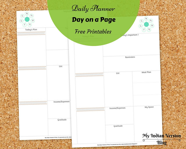 Daily-planner-pages-free-printable