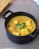 Paneer kurma recipe