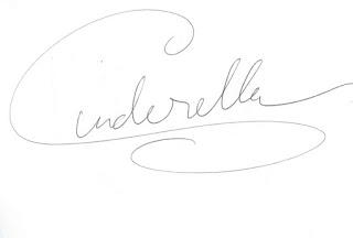 Cinderella Disney Character Autograph