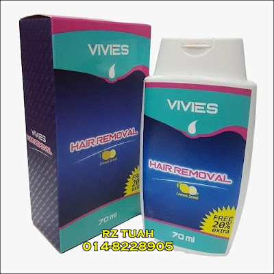 vivies hair removal cream buang bulu instant