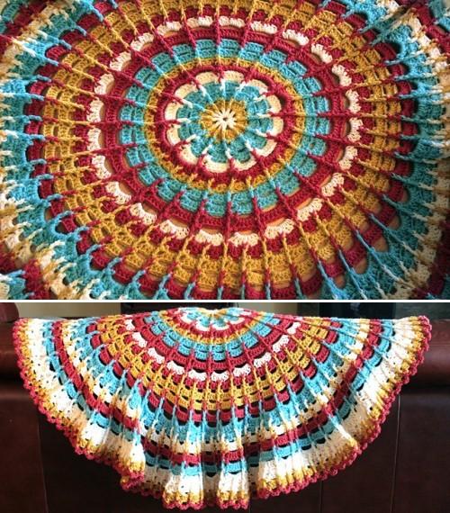 Circle Afghan - Free Pattern