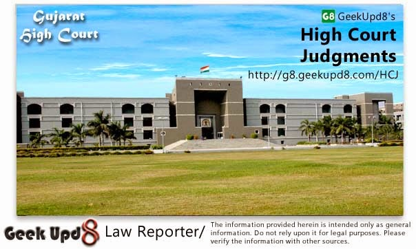 Gujarat High Court, Ahmedabad Judgments