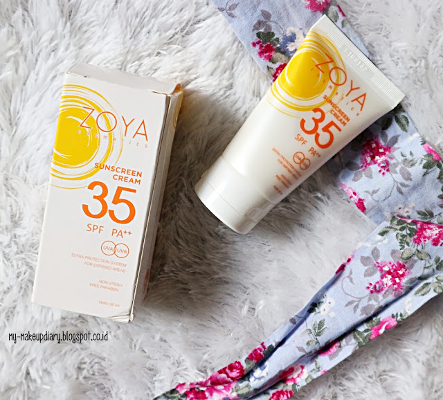 REVIEW ZOYA SUNSCREEN
