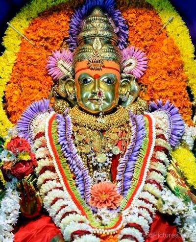 Hindu Goddess shantadurga image