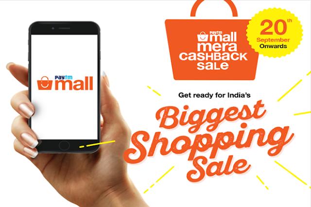 Paytm Mall Mera Cashback Sale