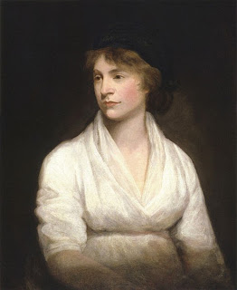 Portrait of Mary Wollstonecraft by John Opie, 1797