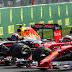 TRETA: Kimi Raikkonen e Max Verstappen trocam acusações