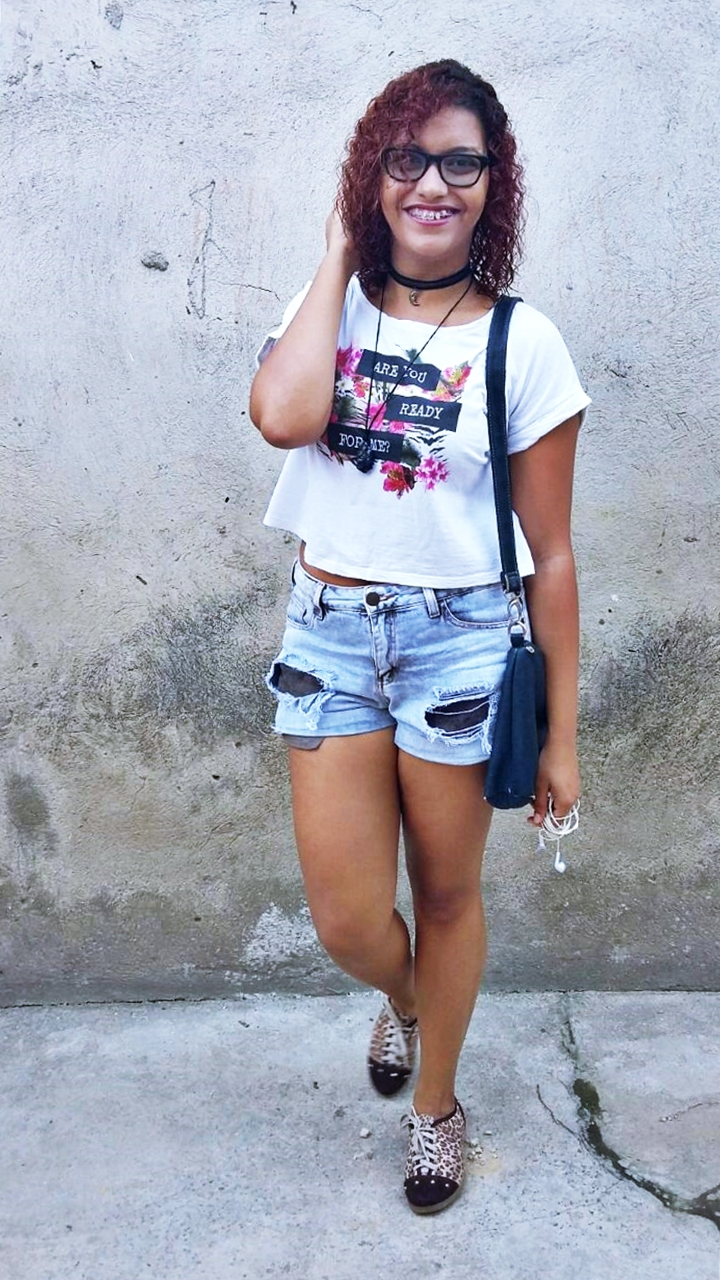 LOOK DO DIA | Don't worry about a thing - Short, t-shirt e tênis