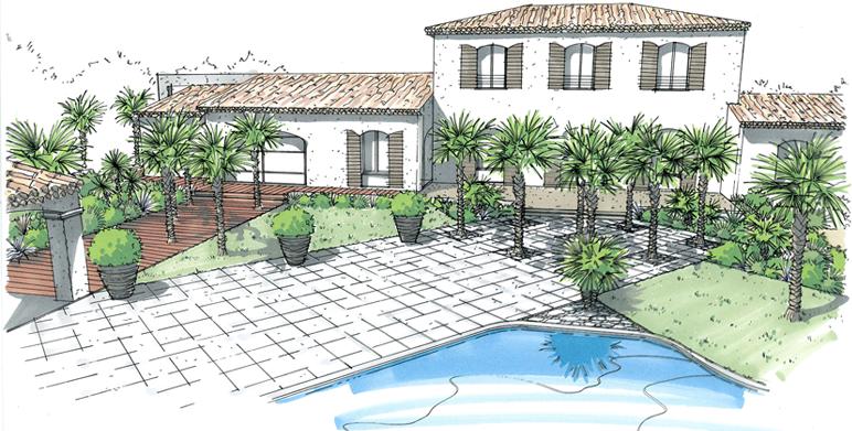 Arts en ciel cours de dessin et de peinture montauban sujet pour paysagiste - Dessiner un jardin ...