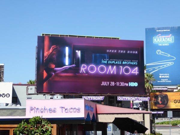 Room 104 series billboard