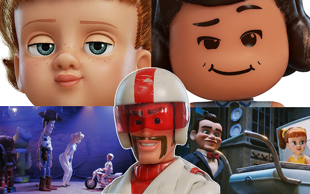 Toy Story 4 collage
