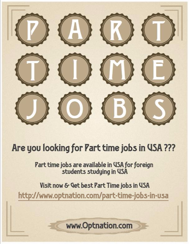 Search all open Part Time jobs in United States on Recruiter. We update our job listings in United States daily. Create a job alert for Part Time jobs and get notified when an opportunity opens up.