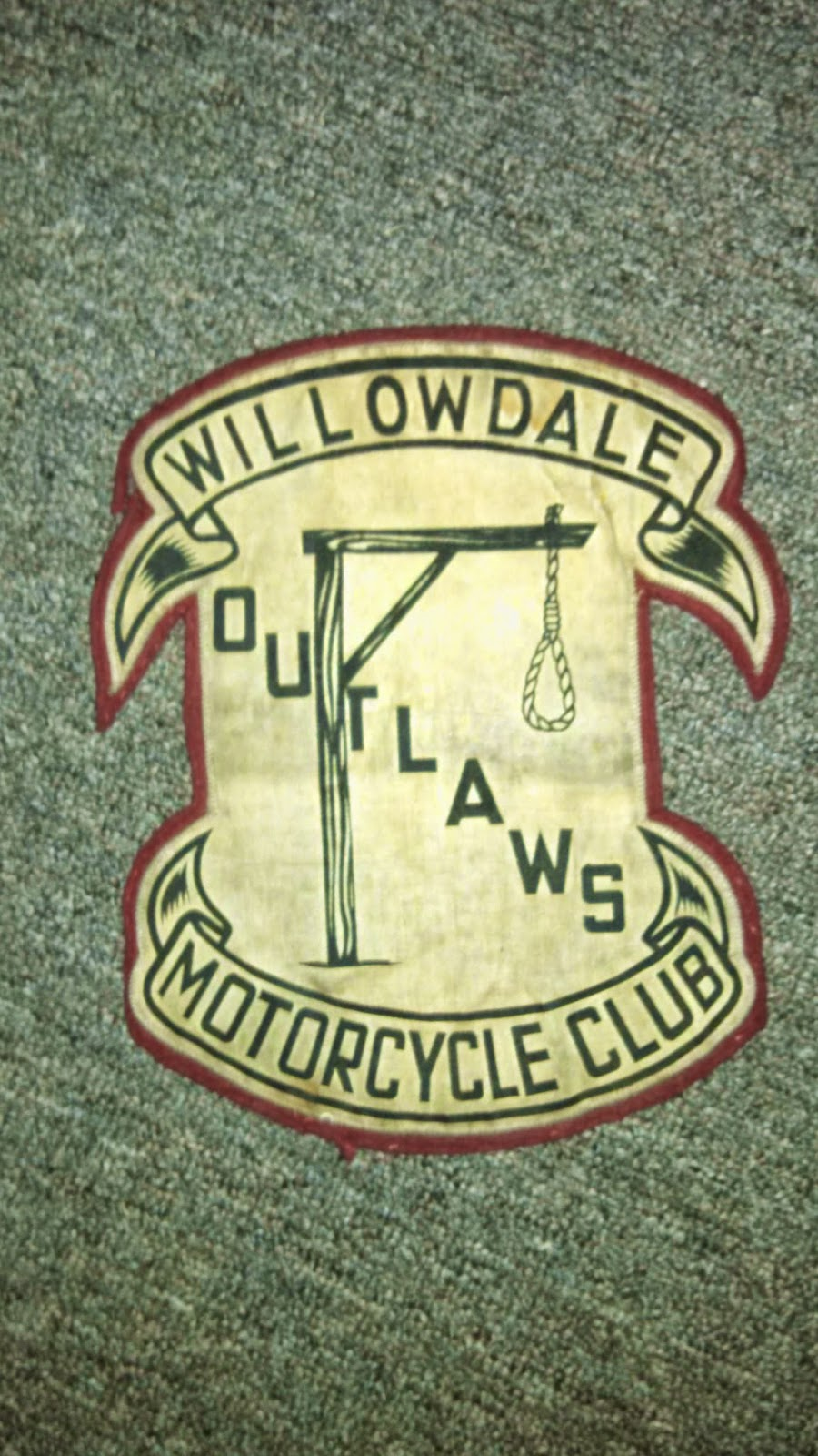 Willowdale50s: Wilowdale Outlaws MC Patch