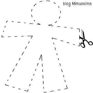 blog mimuselina día santos inocentes con niños bromas divertidas recortar muñeco santos inocentes