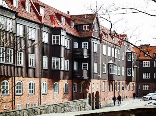 мансарда в скандинавском стиле,