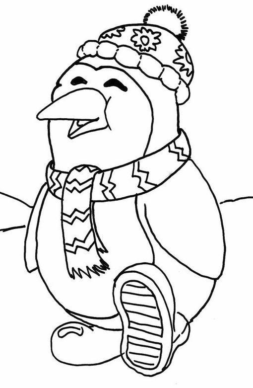 Blog MegaDiverso: Imprimir y pintar dibujos de Pinguinos