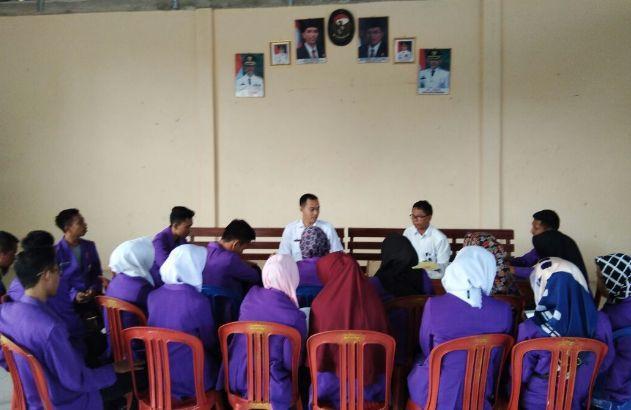 Mahasiswa Rapat Bersama Dengan Puskesmas Pringsewu stapbaak