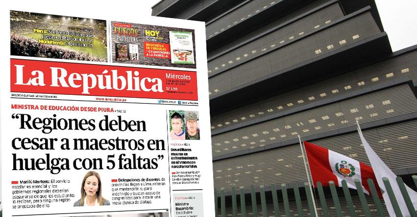 Regiones deben despedir a docentes con 5 faltas, advierte Ministra de Educación Marilú Martens - MINEDU - www.minedu.gob.pe