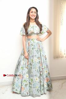 Actress Pragya Jaiswal Stills in Floral Dress at turodu Interview  0180.JPG