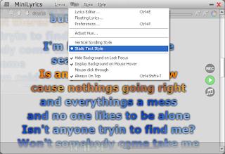 تحميل برنامج MiniLyrics لمعرفة كلمات الاغاني
