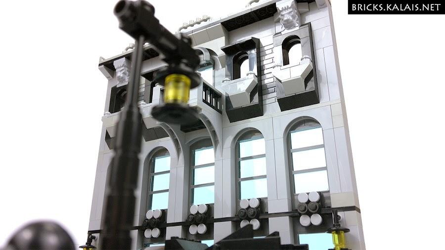 2. Building in Gotham City.