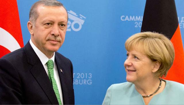 Η Μέρκελ είναι ο απόλυτος εκφραστής της πολιτικής Ερντογάν