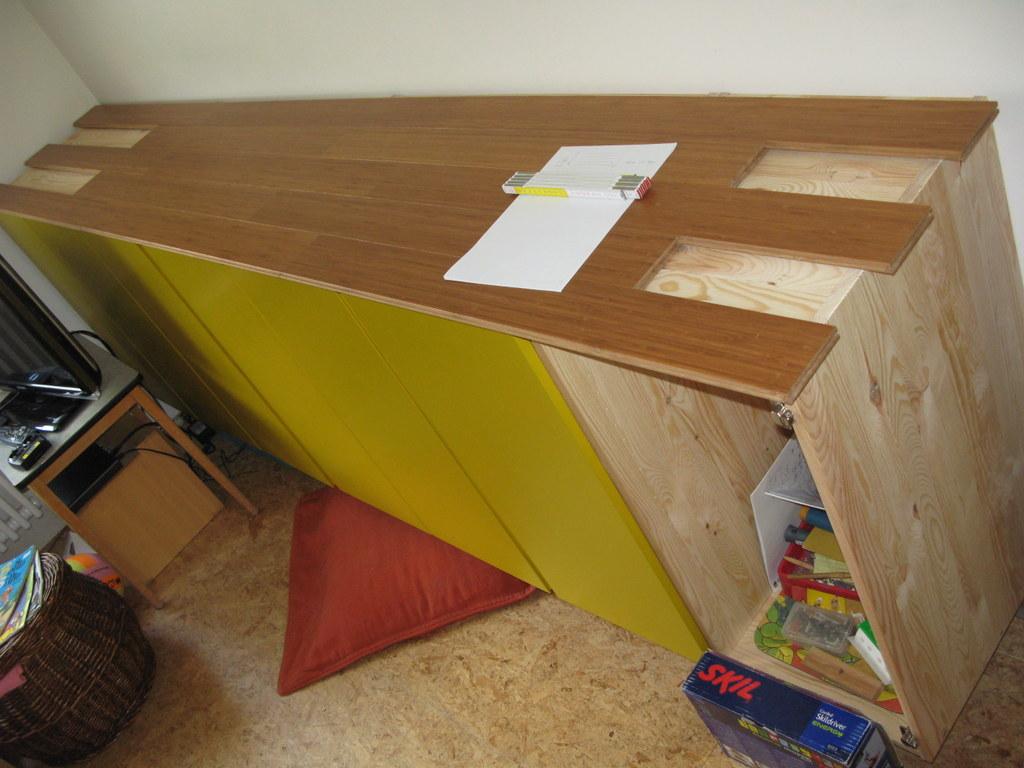 Suspended wall cabinet - IVAR - IKEA Hackers