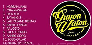 GuyonWaton, Lagu Nonstop, Lagu Cover, Dangdut Akustik, Album Nonstop Guyonwaton Mp3 Ini Patut Dikoleksi Di Android Kamu