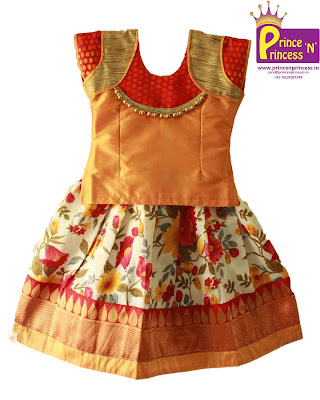 kids pattu pavadai langa designer pavadai traditional south india