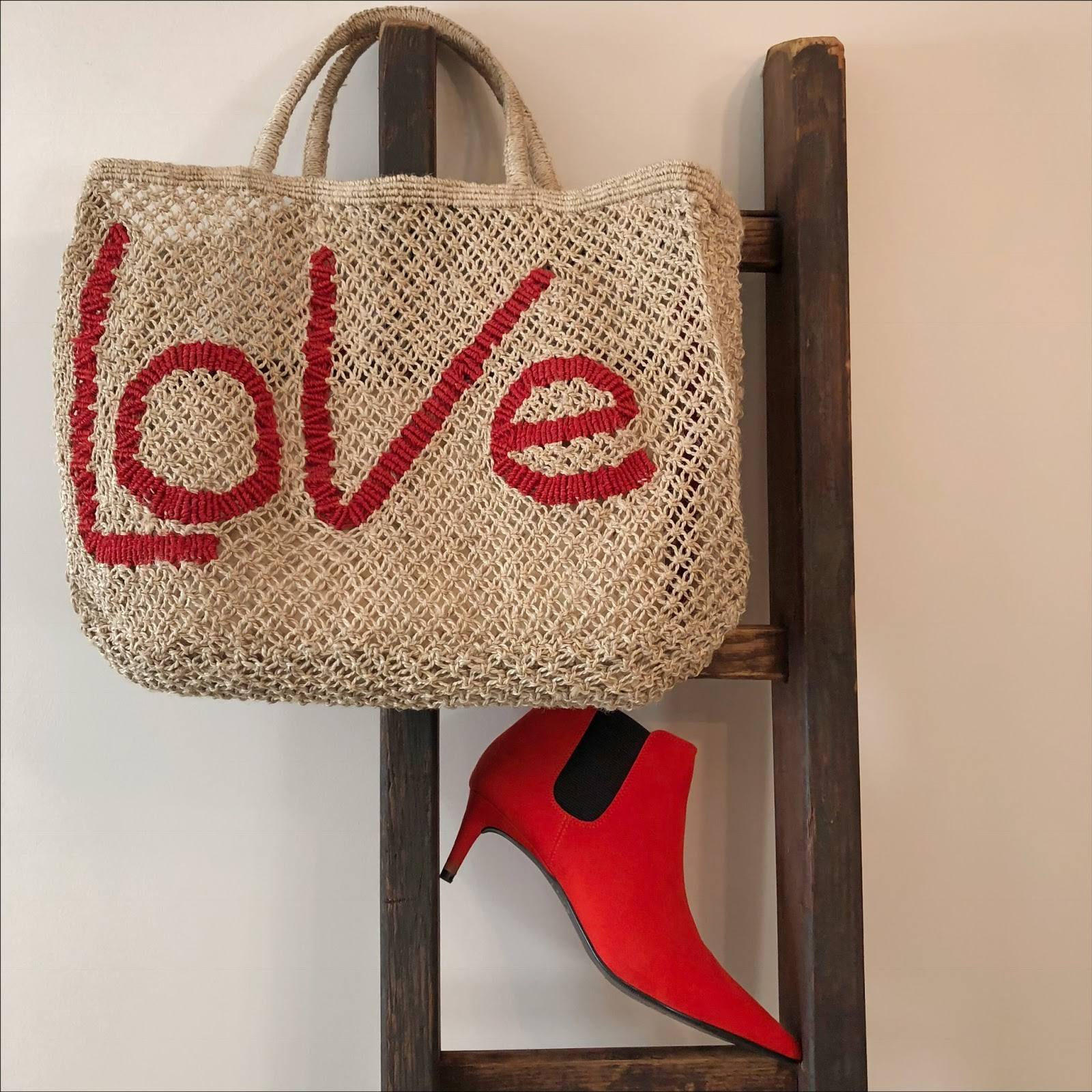 My midlife fashion, marks and spencer kitten heel pointed toe ankle boots, the jacksons jute love bag