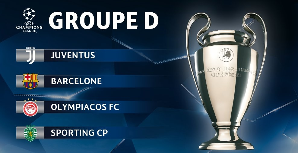Pronostic Ligue des Champions - Groupe D