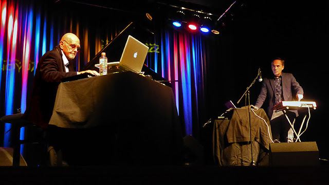 Hans-Joachim Roedelius, Christoph H. Müller live @ dasHaus, Enjoy Jazz Festival 2016 / photo S. Mazars