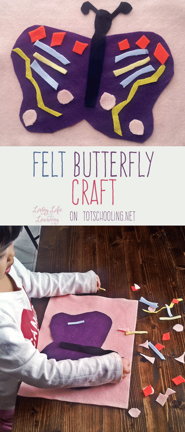 Felt Butterfly Craft