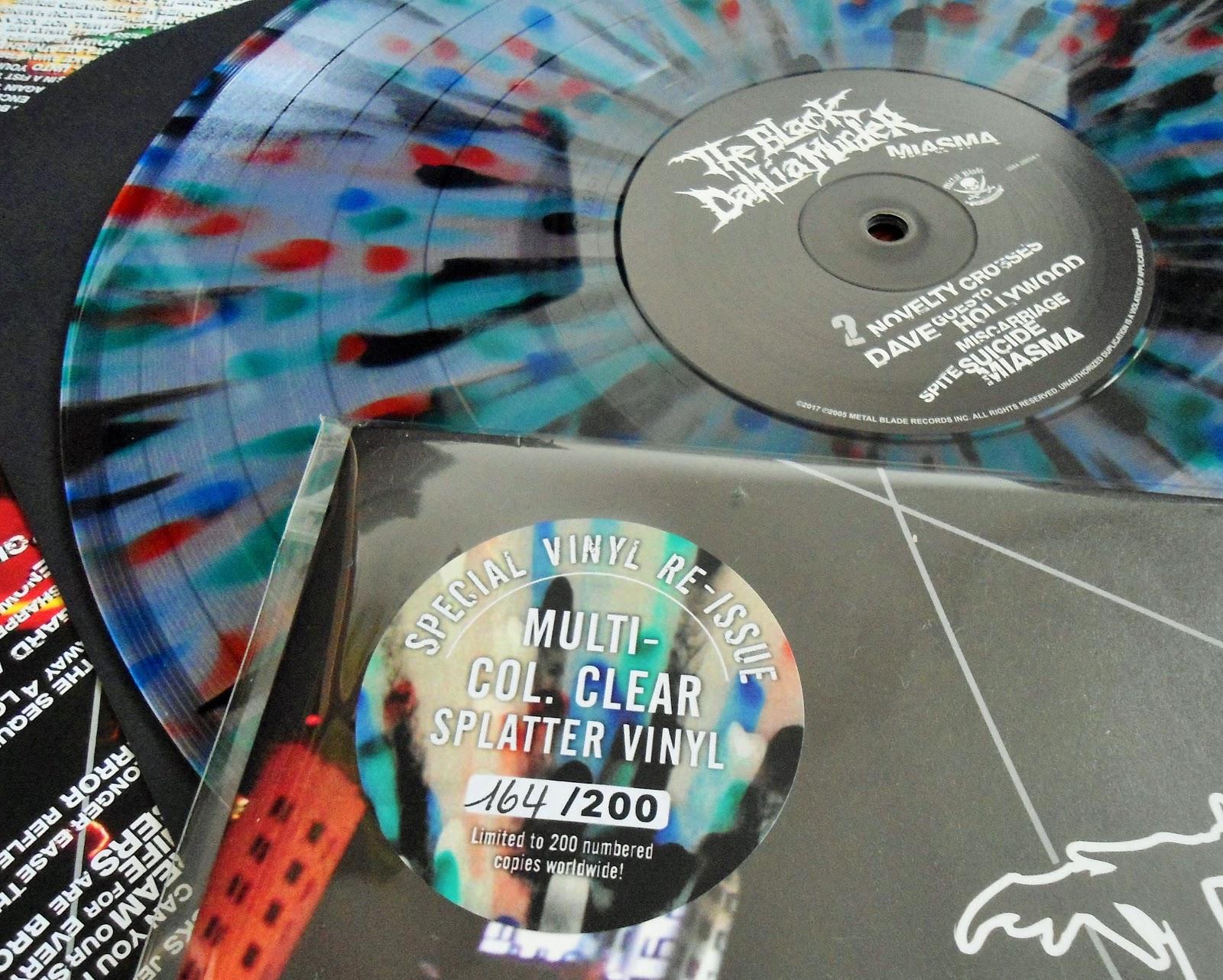 Hardcore Metal Vinyl The Black Dahlia Murder Miasma