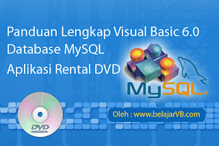 Tutorial Membuat Form Menu Utama Aplikasi Rental DVD VB 6.0 - Part2