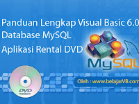 Tutorial VB 6.0 Database MySQL Lengkap