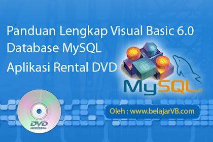 Tutorial Membuat Project Baru Aplikasi Rental DVD VB 6.0 - Part1