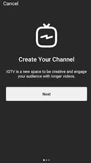 cara membuat saluran IGTV Instagram