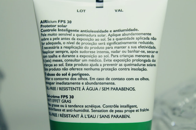 PROTETOR SOLAR ANTIOLEOSIDADE FPS 30 ANTHELIOS AIRLICIUM LA ROCHE POSAY