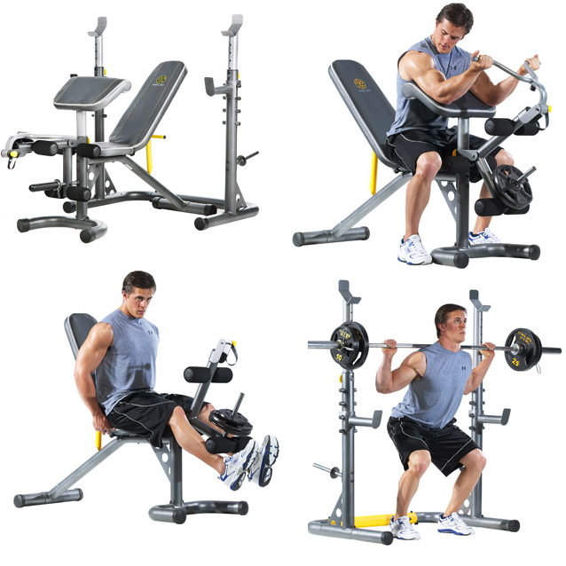 Gold S Gym Xrs 20 Olympic Workout Bench 159 Reg 239 99