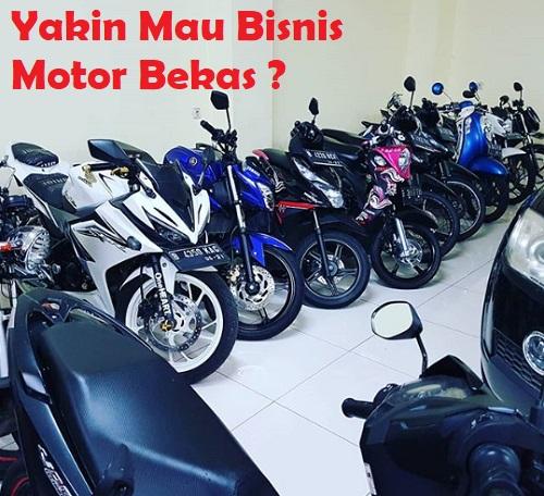 Bisnis Jual Beli Motor Bekas (MOKAS)