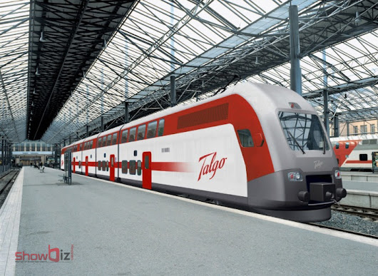 Spanish talgo train with high speed begins with trail run, that is to be introduced on the route of Delhi to Mumbai